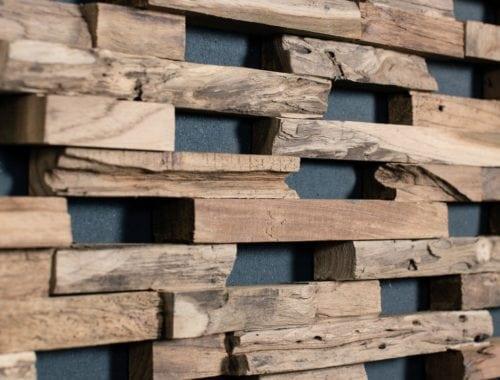 Wonderwall-Studios houten wandbekleding te verkrijgen bij de Vloerenboerderij Weteringbrug