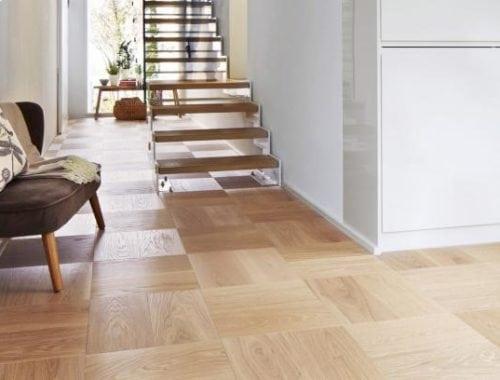 Moderne eiken houten vloer Vloerenboerderij