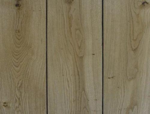 Planken vloer eiken naturel geolied met een klein zwart randje