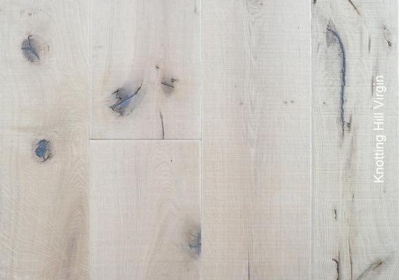 Planken vloer eiken verouderd Knotting Hill Virgin