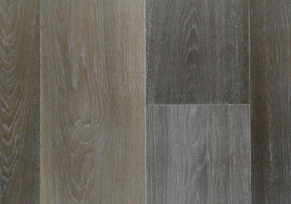 Plankenvloer Orinoco geschaafd gerookt en wit geolied